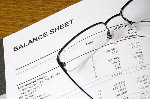 会计 — 资产负债表